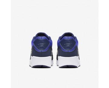 Chaussure Nike Air Max 90 Ultra 2.0 Essential Pour Homme Lifestyle Bleu Souverain/Blanc/Bleu Binaire_NO. 875695-400