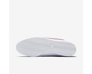 Chaussure Nike Classic Cortez Leather Pour Homme Lifestyle Blanc/Royal Éclatant/Rouge Intense_NO. 749571-154