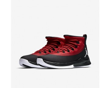 Chaussure Nike Jordan Ultra.Fly 2 Pour Homme Basketball Noir/Rouge Sportif/Blanc_NO. 897998-001