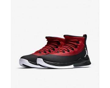 Chaussure Nike Jordan Ultra.Fly 2 Pour Homme Basketball Noir/Rouge Sportif/Blanc_NO. 897998-001
