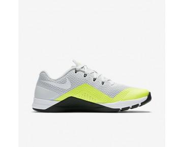 Chaussure Nike Metcon Repper Dsx Pour Homme Fitness Et Training Platine Pur/Volt/Noir/Blanc_NO. 898048-001