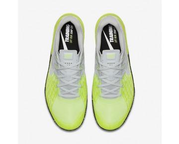 Chaussure Nike Metcon 3 Pour Homme Fitness Et Training Platine Pur/Volt/Vert Ombre/Noir_NO. 852928-006