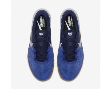 Chaussure Nike Metcon 3 Pour Homme Fitness Et Training Bleu Souverain/Bleu Binaire/Gomme Marron/Blanc_NO. 852928-400