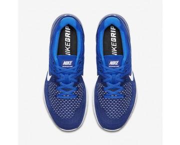 Chaussure Nike Metcon Dsx Flyknit Pour Homme Fitness Et Training Bleu Royal Profond/Bleu Coureur/Blanc_NO. 852930-402