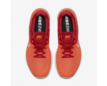 Chaussure Nike Metcon Dsx Flyknit Pour Homme Fitness Et Training Cramoisi Total/Rouge Université/Platine Pur/Hyper Orange_NO. 852930-800