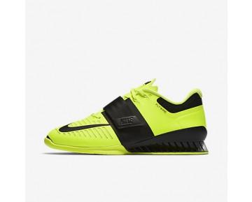 Chaussure Nike Romaleos 3 Pour Homme Fitness Et Training Volt/Noir_NO. 852933-700