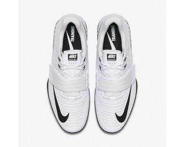 Chaussure Nike Romaleos 3 Pour Homme Fitness Et Training Blanc/Volt/Noir_NO. 852933-100