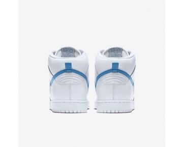 Chaussure Nike Sb Dunk High Pro Pour Homme Skateboard Blanc/Blanc/Blanc/Bleu Orion_NO. 881758-141