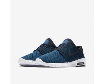 Chaussure Nike Sb Stefan Janoski Max Pour Homme Skateboard Bleu Industriel/Bleu Photo/Bleu Arsenal Clair/Obsidienne_NO. 631303-444