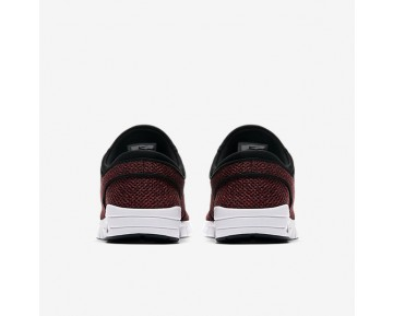 Chaussure Nike Sb Stefan Janoski Max Pour Homme Skateboard Rouge Piste/Cèdre/Mandarine Brillant/Noir_NO. 631303-606