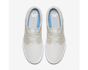 Chaussure Nike Sb Solarsoft Portmore Ii Pour Homme Skateboard Beige Clair/Blanc/Noir/Platine Pur_NO. 880266-041