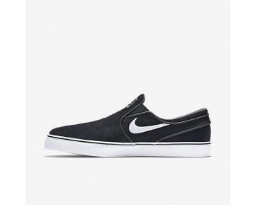 Chaussure Nike Sb Zoom Stefan Janoski Slip-On Pour Homme Skateboard Noir/Blanc_NO. 833564-001