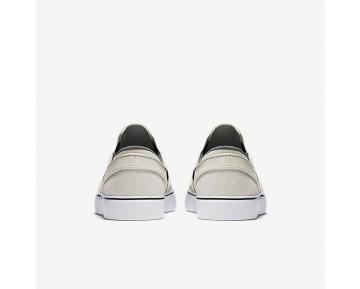 Chaussure Nike Sb Zoom Stefan Janoski Slip-On Pour Homme Skateboard Beige Clair/Blanc/Noir/Noir_NO. 833564-002