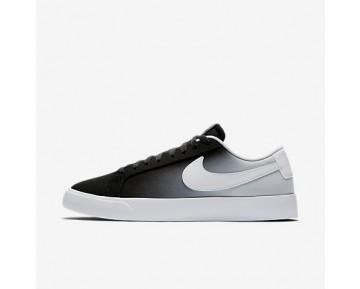 Chaussure Nike Sb Blazer Vapor Textile Pour Homme Skateboard Noir/Platine Pur/Blanc_NO. 902663-014