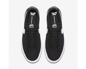 Chaussure Nike Sb Blazer Vapor Textile Pour Homme Skateboard Noir/Blanc_NO. 902663-010