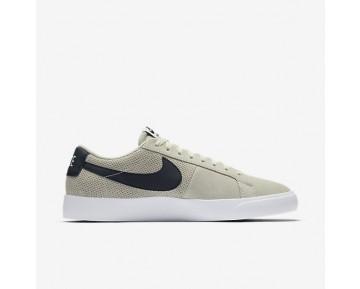 Chaussure Nike Sb Blazer Vapor Pour Homme Skateboard Blanc Sommet/Obsidienne_NO. 878365-141