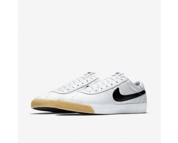 Chaussure Nike Sb Zoom Bruin Premium Se Pour Homme Skateboard Blanc Sommet/Blanc/Noir_NO. 877045-101