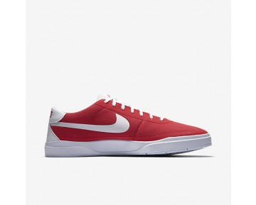 Chaussure Nike Sb Bruin Hyperfeel Canvas Pour Homme Skateboard Rouge Piste/Blanc/Blanc/Blanc_NO. 883680-611