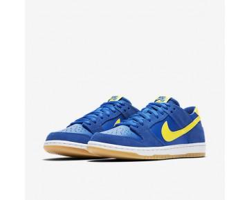 Chaussure Nike Sb Dunk Low Pro Pour Homme Skateboard Royal Éclatant/Blanc/Gomme Marron Clair/Éclair_NO. 854866-471