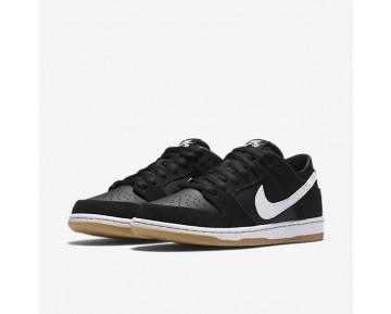 Chaussure Nike Sb Dunk Low Pro Pour Homme Skateboard Noir/Gomme Marron Clair/Blanc_NO. 854866-019