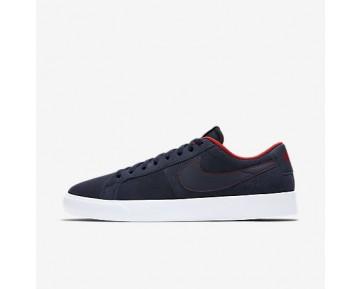 Chaussure Nike Sb Blazer Vapor Pour Homme Skateboard Obsidienne/Blanc/Rouge Piste/Obsidienne_NO. 878365-441