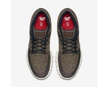 Chaussure Nike Sb Stefan Janoski Max Mid Pour Homme Skateboard Marron Baroque/Cramoisi Laser/Voile/Noir_NO. 807507-206