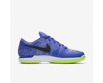 Chaussure Nike Court Zoom Vapor Flyknit Hard Court Qs Pour Homme Tennis Leu Souverain/Vert Ombre/Blanc/Noir_NO. 916834-403