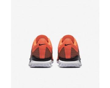 Chaussure Nike Court Air Zoom Ultra Pour Homme Tennis Hyper Orange/Blanc/Noir_NO. 845007-801