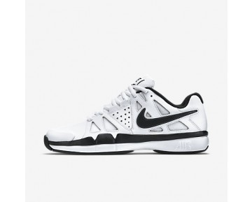Chaussure Nike Air Vapor Advantage Leather Pour Homme Tennis Blanc/Gris Foncé/Noir_NO. 839235-100