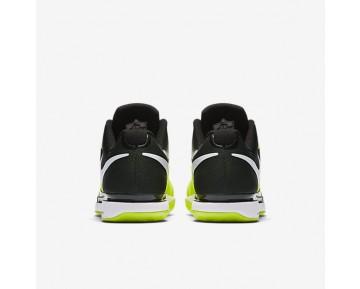 Chaussure Nike Court Zoom Vapor 9.5 Tour Pour Homme Tennis Volt/Noir/Blanc_NO. 631458-702