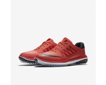 Chaussure Nike Lunar Control Vapor Pour Homme Golf Orange Max/Blanc/Noir_NO. 849971-800