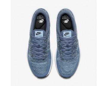 Chaussure Nike Air Max 1 Ultra 2.0 Flyknit Pour Homme Lifestyle Brouillard D'Océan/Bleu Mica/Noir/Brouillard D'Océan_NO. 875942-400