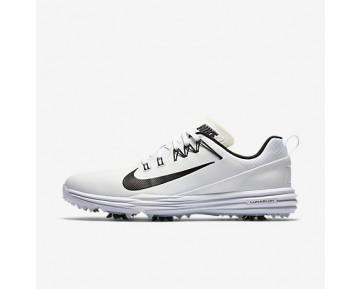 Chaussure Nike Lunar Command 2 Pour Homme Golf Blanc/Blanc/Noir_NO. 849968-100
