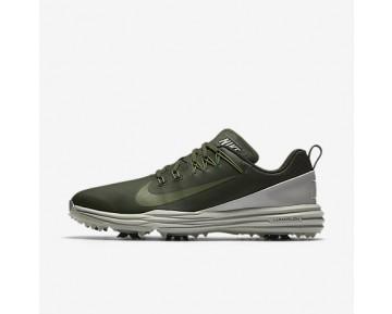Chaussure Nike Lunar Command 2 Pour Homme Golf Kaki Cargo/Beige Clair/Vert Feuille De Palmier_NO. 849968-300