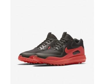 Chaussure Nike Air Zoom 90 It Pour Homme Golf Noir/Orange Max/Orange Max_NO. 844569-003