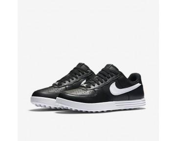 Chaussure Nike Lunar Force 1 G Pour Homme Golf Noir/Blanc_NO. 818726-001