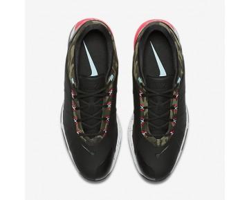 Chaussure Nike Lunar Fire Pour Homme Golf Noir/Kaki Cargo/Ciel Éclatant/Rose Coureur_NO. 853738-003