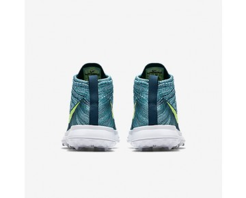 Chaussure Nike Flyknit Chukka Pour Homme Golf Turquoise Rio/Turquoise Nuit/Hyper Jade/Volt_NO. 819009-300