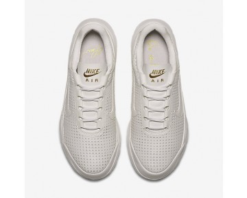 Chaussure Nike Air Max Jewell Premium Qs Pour Femme Lifestyle Blanc Sommet/Or Métallique/Blanc Sommet_NO. 896197-100