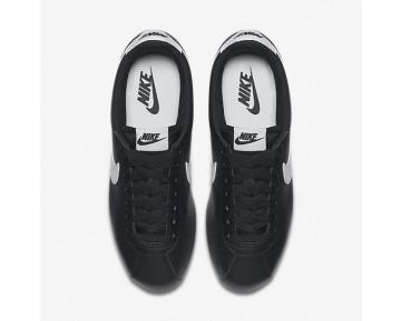 Chaussure Nike Classic Cortez Pour Femme Lifestyle Noir/Blanc/Blanc_NO. 807471-010