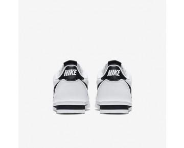 Chaussure Nike Classic Cortez Pour Femme Lifestyle Blanc/Blanc/Noir_NO. 807471-101