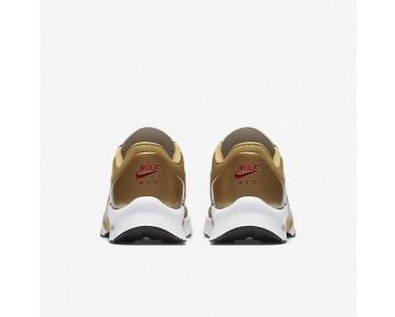 Chaussure Nike Air Max Jewell Qs Pour Femme Lifestyle Or Métallique/Noir/Blanc/Rouge Intense_NO. 910313-700