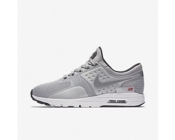 Chaussure Nike Air Max Zero Pour Femme Lifestyle Argent Métallique/Rouge Université/Noir/Argent Métallique_NO. 863700-002