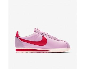 Chaussure Nike Classic Cortez Nylon Premium Pour Femme Lifestyle Rose Parfait/Voile/Rouge Sport_NO. 882258-601
