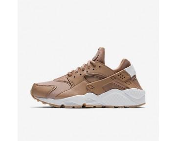 Chaussure Nike Air Huarache Pour Femme Lifestyle Poussière D'Argile/Jaune Gomme/Blanc_NO. 634835-200