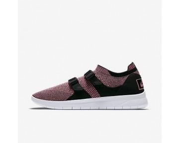 Chaussure Nike Air Sock Racer Ultra Flyknit Pour Homme Lifestyle Rose/Melon Brillant/Blanc/Melon Brillant_NO. 898022-003