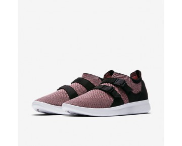 Chaussure Nike Air Sock Racer Ultra Flyknit Pour Homme Lifestyle Rose/Melon Brillant/Blanc/Melon Brillant_NO. 898022-003