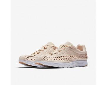 Chaussure Nike Mayfly Woven Qs Pour Femme Lifestyle Orange Pâle/Blanc/Jaune Gomme/Orange Pâle_NO. 919749-800