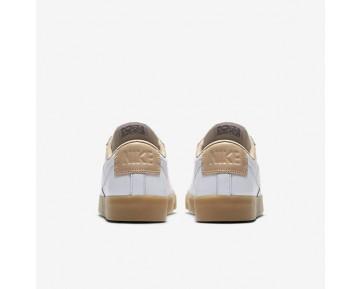 Chaussure Nike Blazer Premium Low Pour Femme Lifestyle Blanc/Brun Vachette/Gomme Marron Clair/Blanc_NO. 454471-101
