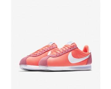 Chaussure Nike Classic Cortez 15 Nylon Pour Femme Lifestyle Rose Coureur/Aluminium/Blanc_NO. 749864-600